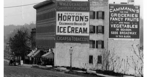 Hortons Ice Cream Billboard at Kingsbridge Road (now ...