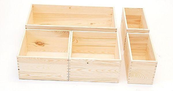 holzkiste holzbox regalsegment 30 x 30 x 17 cm bild 4. Black Bedroom Furniture Sets. Home Design Ideas