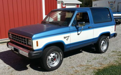 Almost Just Like Mine 1985 Mine Was 84 And 2 Tone Blue Ford Bronco Ford Classic Cars Bronco Ii