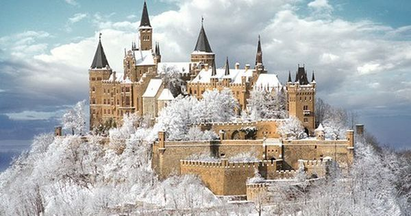 Hohenzollern Castle. This is a beautiful place. So different when snow covered.