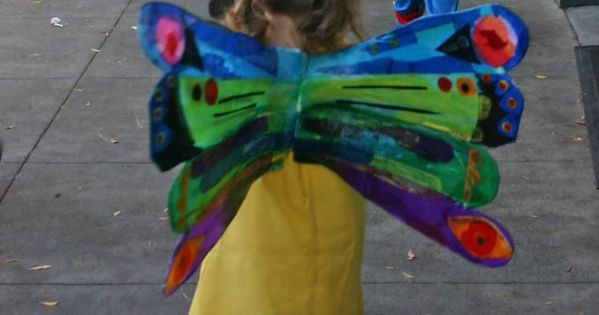 Very Hungry Caterpillar Butterfly Costume The Very Hungry Caterp...