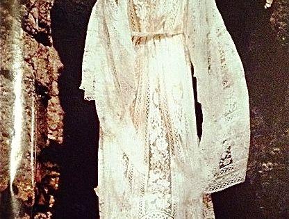 white lace dress hippie boho indie womens fashion style