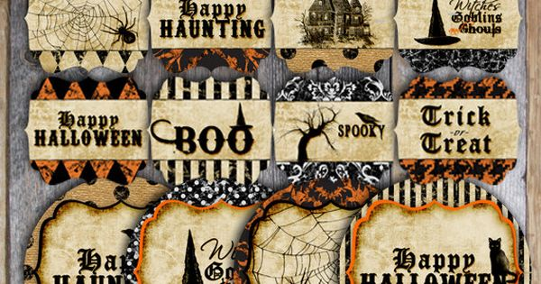 Halloween Tag Printables