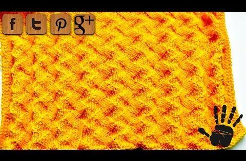 Zig Zag Stitch Loom Knitting : Zigzag knitting pattern woolpedia youtube crochet