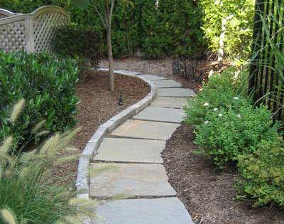 Garden Pathway Cheap Patio