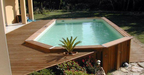 Piscina fuori terra in legno ottagonale piscine fuori for Beaver pool piscine