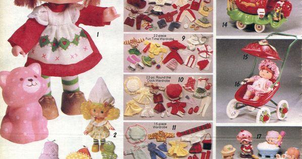 strawberry shortcake doll 1982-xx-xx Sears Christmas Catalog P310 by Wishbook via Flickr