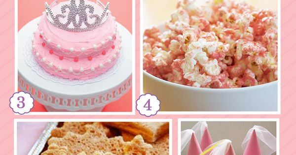 Princess Party Ideas/RaeLynn 5th Birthday idea