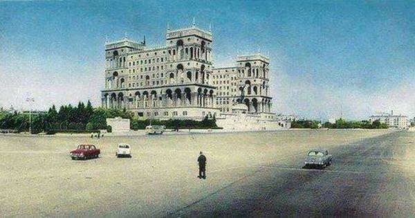Baku 1967 Historical Photos Photo Landmarks
