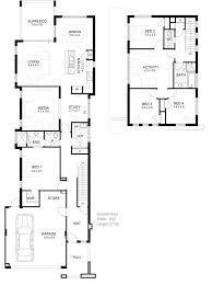 Image Result For 2 Storey Narrow House Plans Narrow Lot House Plans Narrow House Plans House Plans Australia