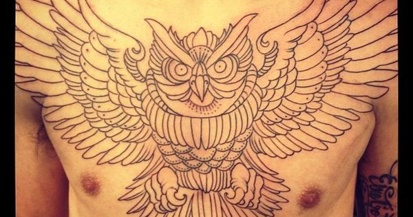 chest piece | Outline of a massive chest piece - american ...