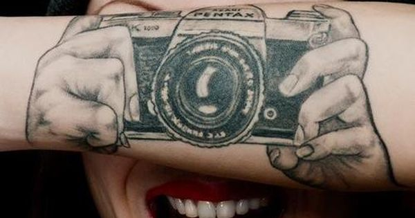 camera tattoo | Tattoo Ideas Central