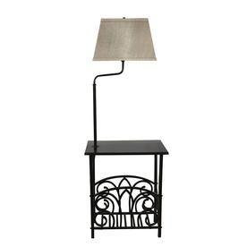 Product Image 1 Floor Lamp Floor Lamp With Shelves Retro Floor
