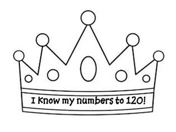 120th Day Crown Template With Images Crown Template Crown