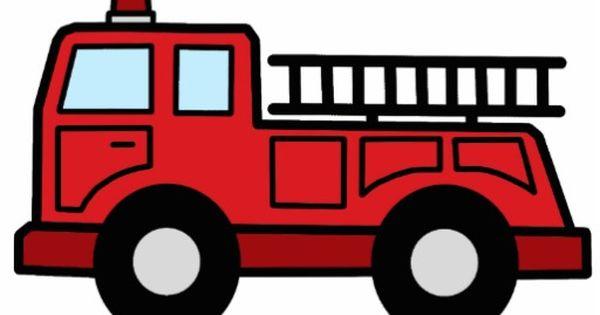 Cartoon Clip Art Firetruck Emergency Vehicle Truck Acrylic Cut ...