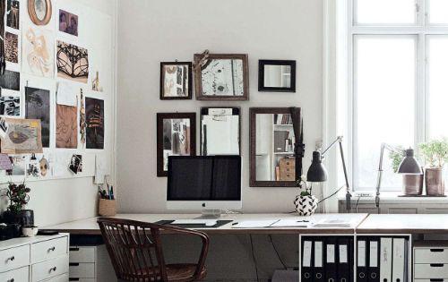 work space via elle decor uk