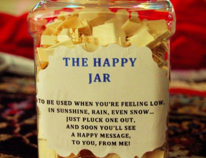 12 Diy Gifts Your Best Friend Will Be Obsessed With Easy Diy Christmas Gifts Diy Gifts For Your Best Friend Happy Jar