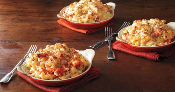 Lobster Mac and Cheese recipe from Ina Garten via Food Network