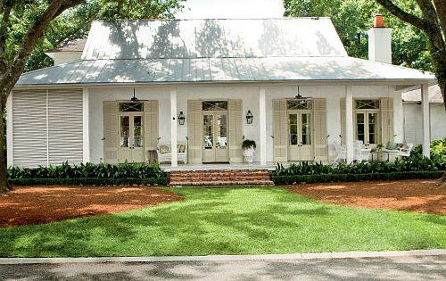 Modern Farmhouse Exterior Small Wrap Around Porches