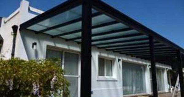 Pergolas de hierro en ca o estructural a medida con techo - Pergola de hierro ...