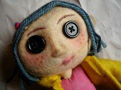 Diy Coraline Doll Coraline Doll Coraline Coraline Costume