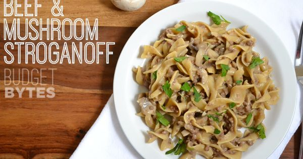 Mushroom Stroganoff Soup, Improved Recipe — Dishmaps