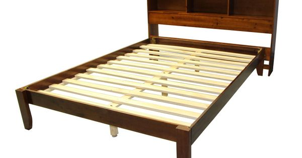 Scandinavia King Size Solid Bamboo Wood Platform Bed With