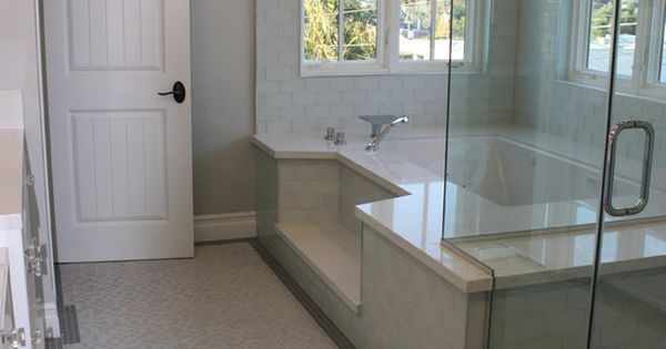 Step Down Roman Tub Shower Combination Dream Bathrooms Pinterest Tub S