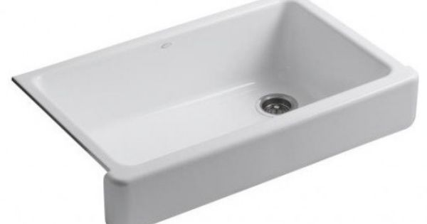 Shallow Depth Farmhouse Sink : sink by Kohler 999 Home Decor Pinterest Sinks, Farmhouse Sinks ...