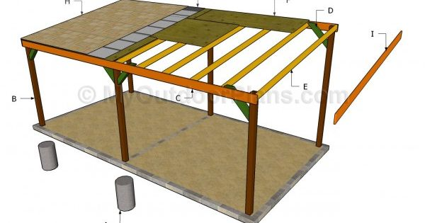 Carport plans free free outdoor plans diy shed wooden for Carport with shed attached plans