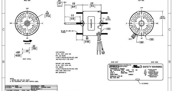Awesome Magnetek Century Ac Motor Wiring Diagram In 2020 Electrical Wiring Diagram Diagram Wire