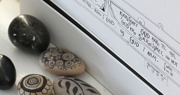 DIY Rock Decor