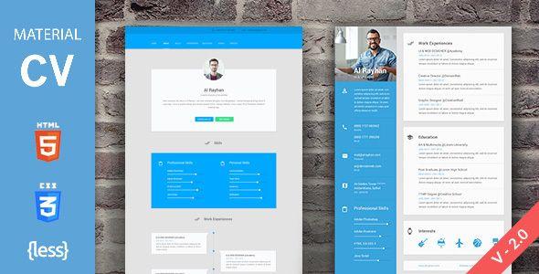 Material Cv Resume Design Grafik