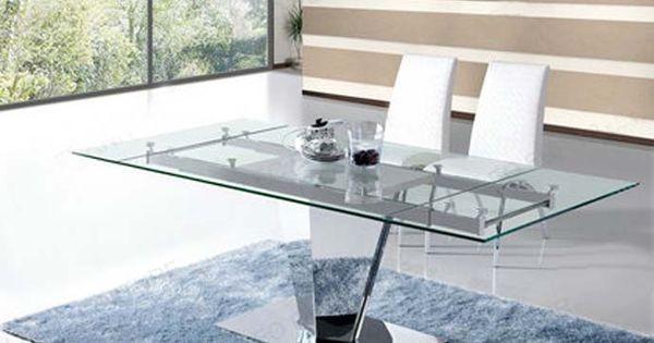 Mesas de comedor extensibles prisma decoraci n beltr n for Disena tu comedor online
