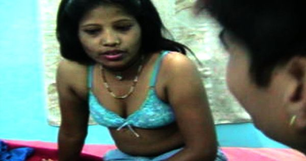 Indian Young Girl Romance With Neighbour In Bedroom