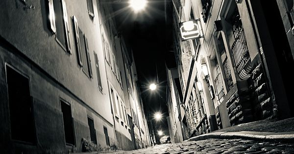 "the red-light district of stuttgart, 2:11 am ""Cité Noir"" by Marcus Meyer,"