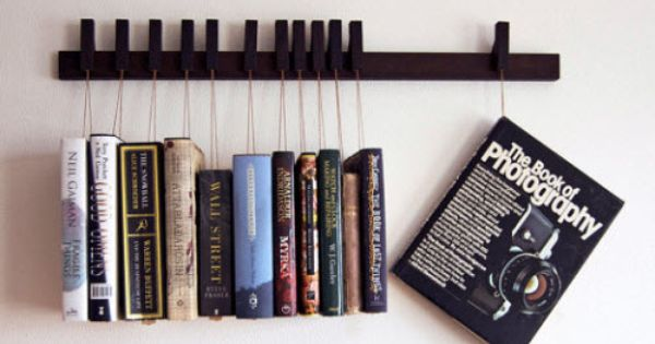 Wenge Wooden Book Rack- swell idea
