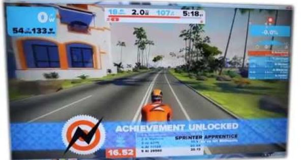 Watch Zwift In Action Exclusive Cycling Weekly Preview Youtube