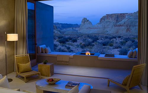 Beautiful Amangiri Resort and Spa... It's all about the view!