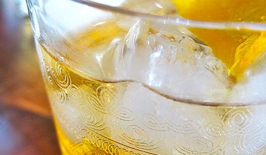 Traditional Elder-fashioned Cocktail | Recipe | Elderflower Cordial ...
