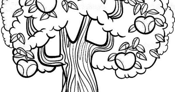 coloring pages fruit trees - photo#15