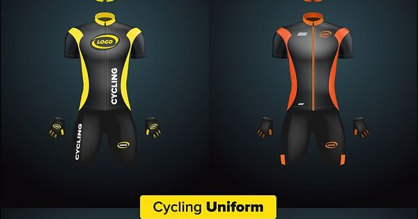 Download Realistic Vector Cycling Uniform Set Design Mockup Free Mockup Free Psd Psd Mockup Template