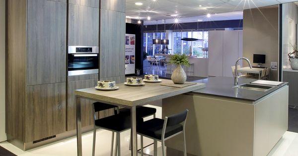 ... keuken showroom Van Wanrooij - Eiland keukens : Pinterest - Toonzaal
