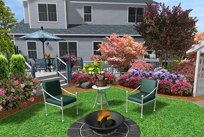 Simple Free Landscaping Software Programs Design Ideas Free Landscape Design Backyard Landscaping Designs Garden Landscape Design