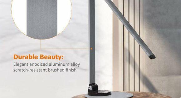 Taotronics Aluminum Alloy Dimmable Led Lamp In 2020 Dimmable Led Led Desk Lamp Adjustable Lighting