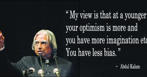 thought for the day from abdul kalam bulk sms