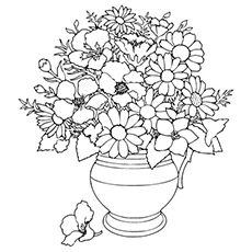 Top 35 Free Printable Spring Coloring Pages Online Flower Coloring Sheets Rose Coloring Pages Spring Coloring Pages