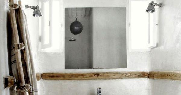 san giorgio un bohemio destino en m konos salle salle de bains et salle de bain campagne. Black Bedroom Furniture Sets. Home Design Ideas