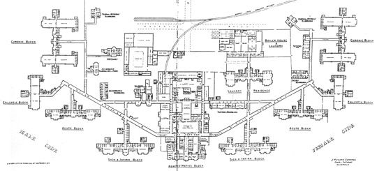 map of winchester house