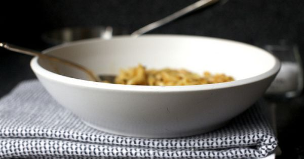 pasta and white beans with garlic-rosemary oil | Top Picks | Pinterest ...